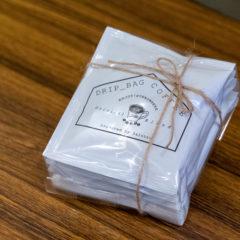 Drip Bag Coffee<ドリップバッグコーヒー> 5袋ラッピング ¥800